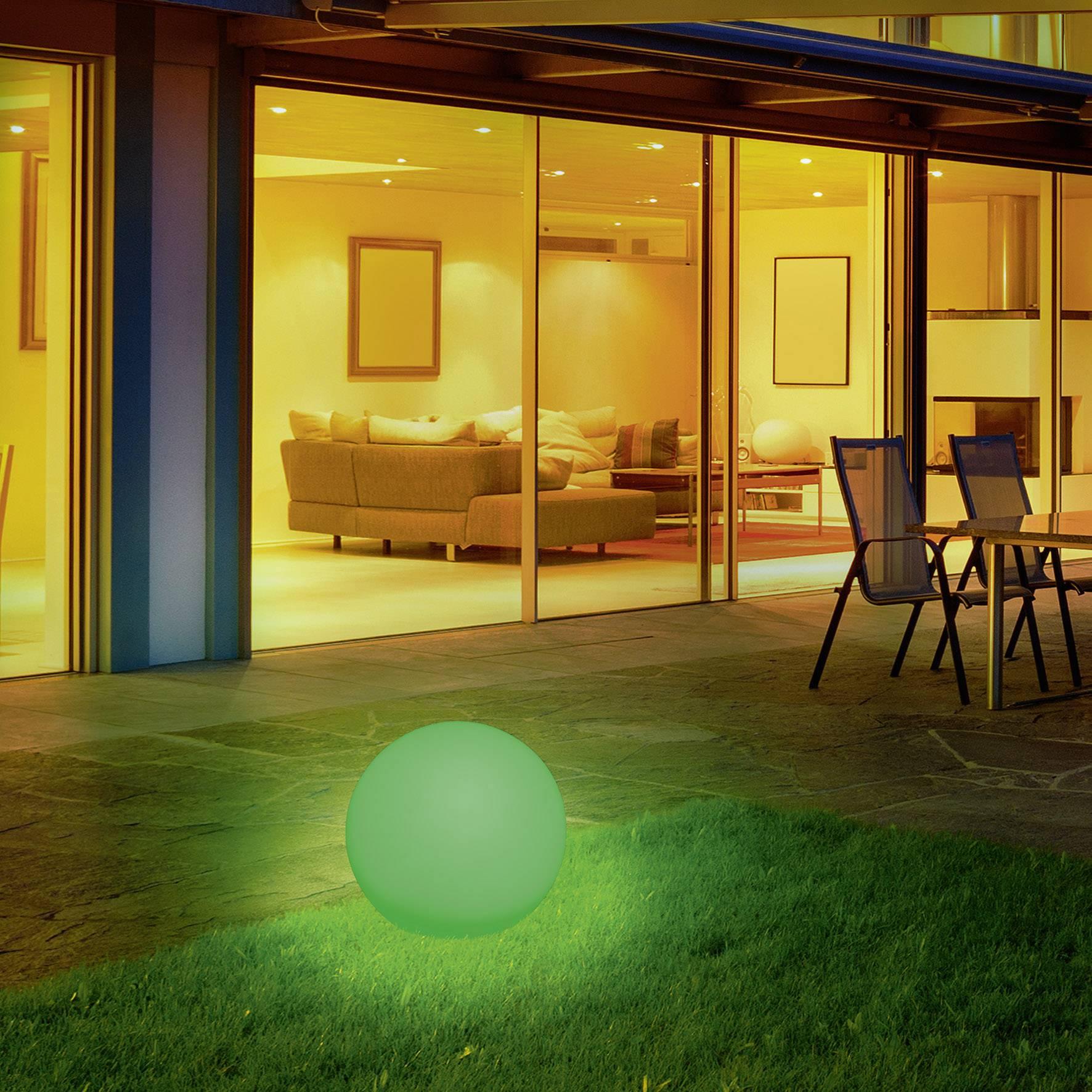 Solaire Boule Lumineuse 40 Cm Lampe Solaire Jardin Éclairage ... pour Boule Lumineuse Jardin