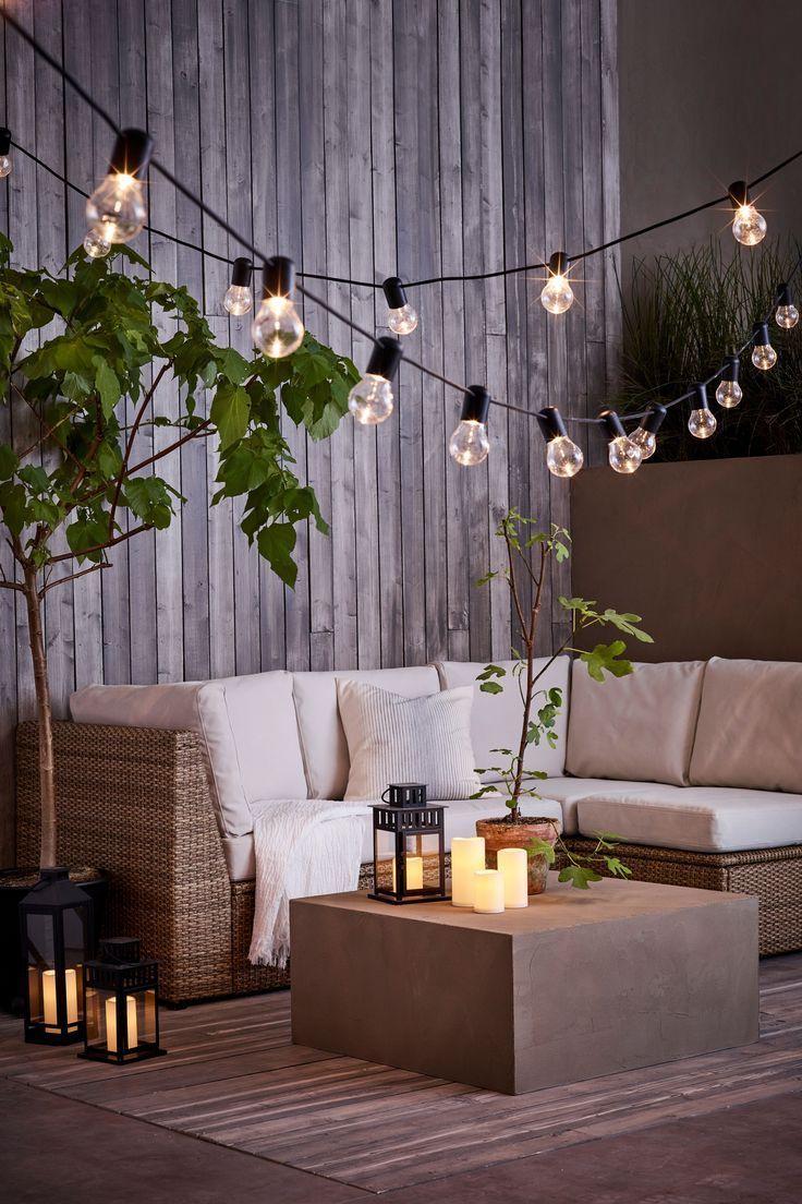 Sollerön Modular Corner Sofa, 3-Seat, Outdoor - Brown ... encequiconcerne Siege Jardin Ikea