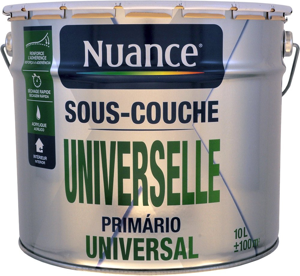 Sous Couche Universelle 10L dedans Abris De Jardin Bricomarché