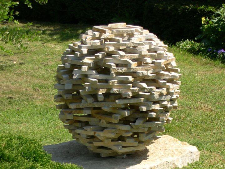 Sphéroïde I I Heykel Marc Mugnier Tarafından | Artmajeur à Statue Fontaine De Jardin