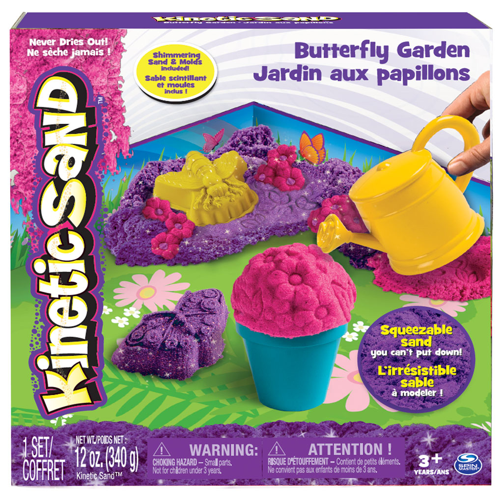 Spin Master - Kinetic Sand Kinetic Sand Butterfly Garden Set dedans Sang Seché Jardin