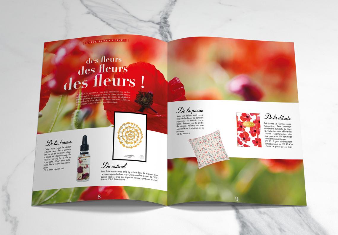 Spring Magazine Gourmandises By Bonne Maman - Andrea ... tout Détente Jardin Abonnement