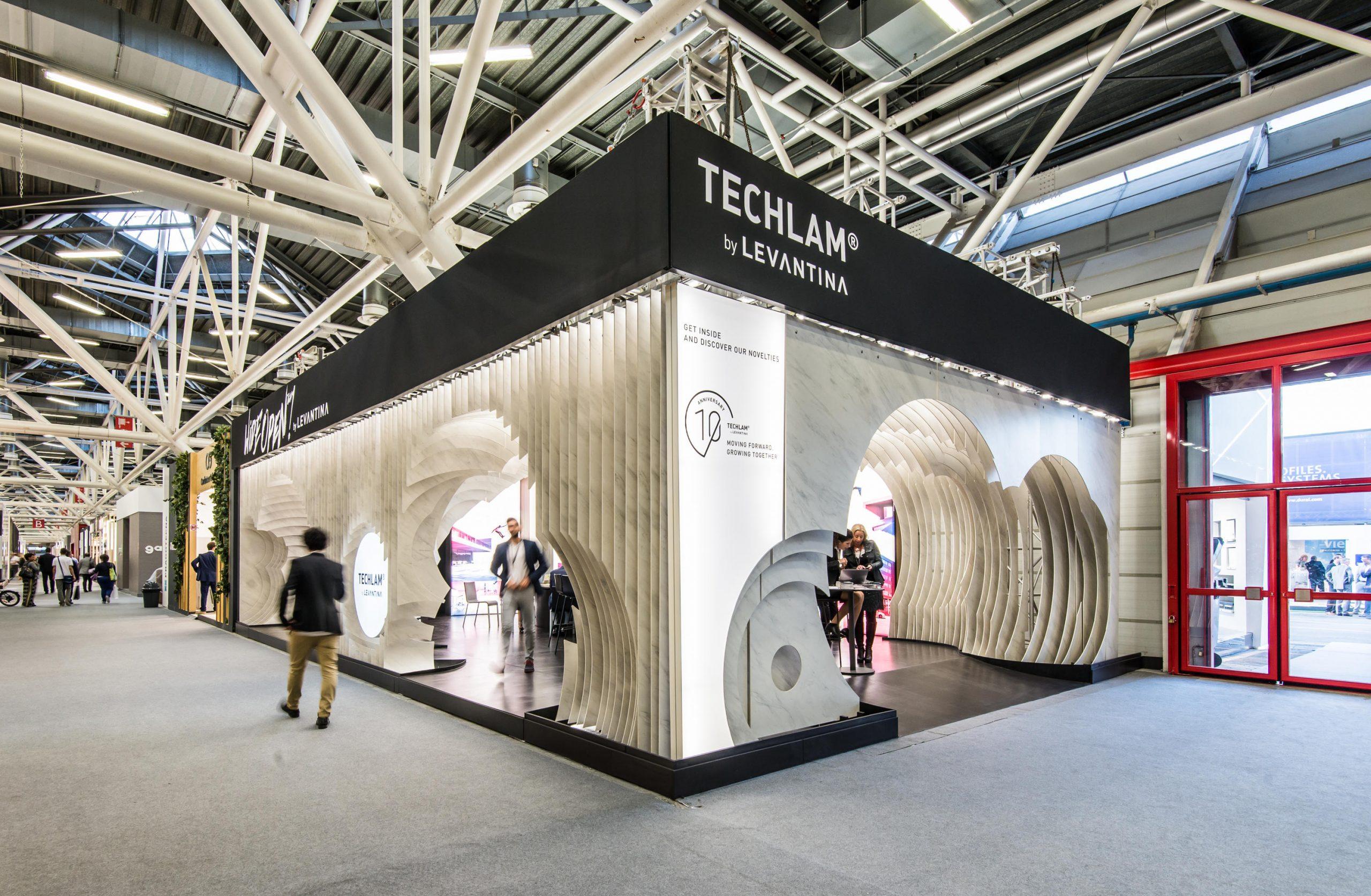 Stand Levantina Cersaie 2017 De Rocamora Arquitectura ... à Vima Salon De Jardin