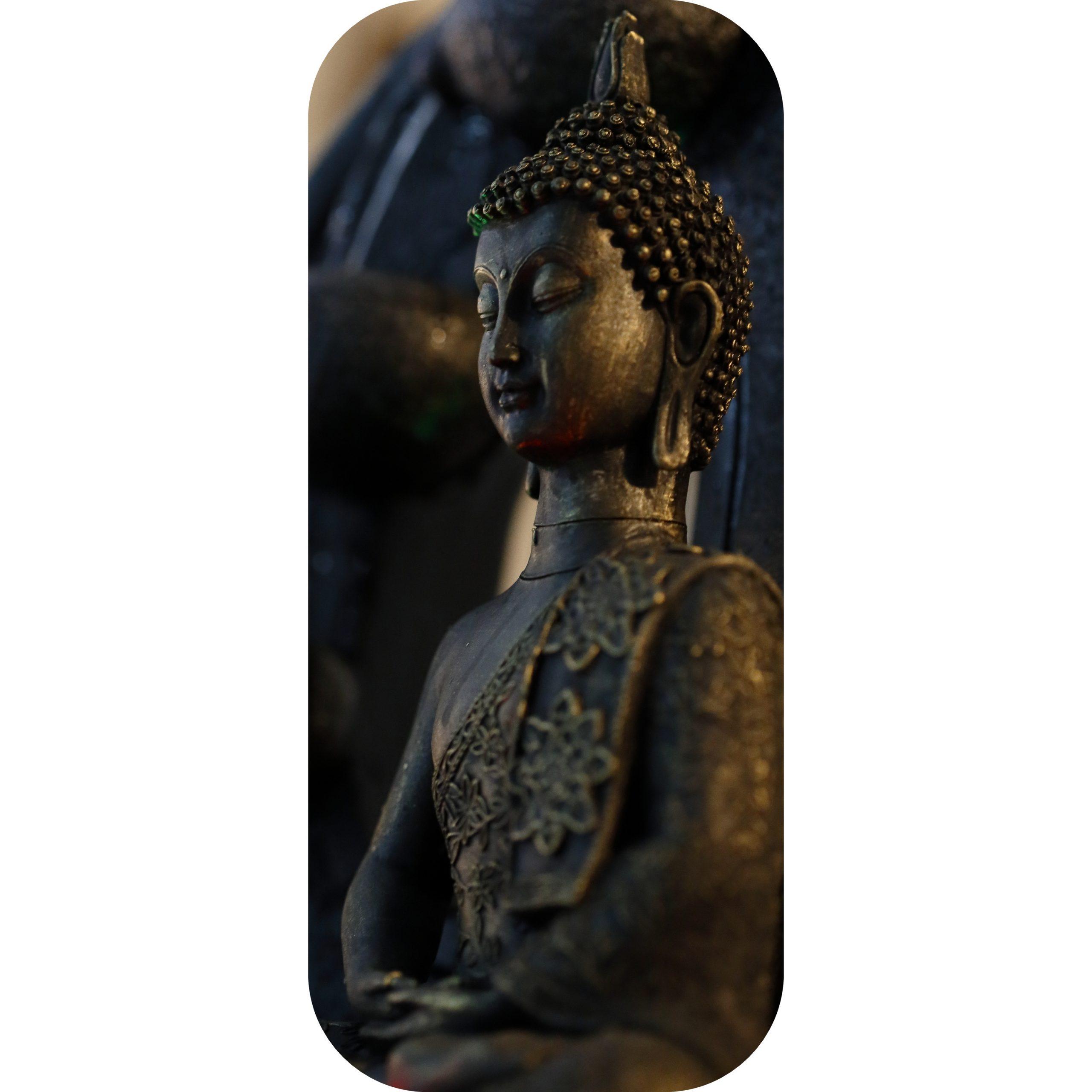 Statuette Bouddha Thai intérieur Statue Bouddha Exterieur Pour Jardin
