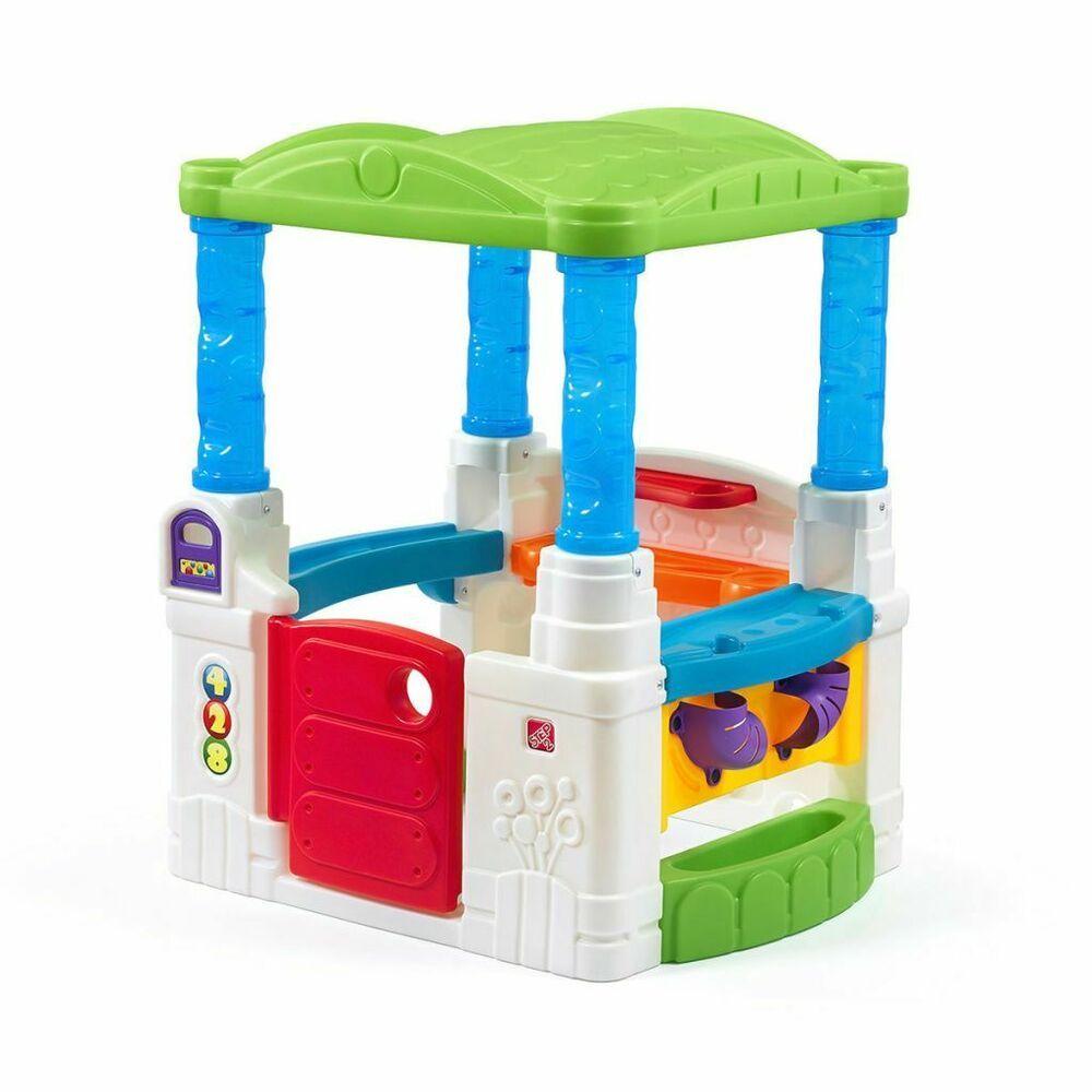 Step2 Cabane Pour Enfants En Plastique Jouets Jeux De Plein ... intérieur Maison De Jardin Jouet