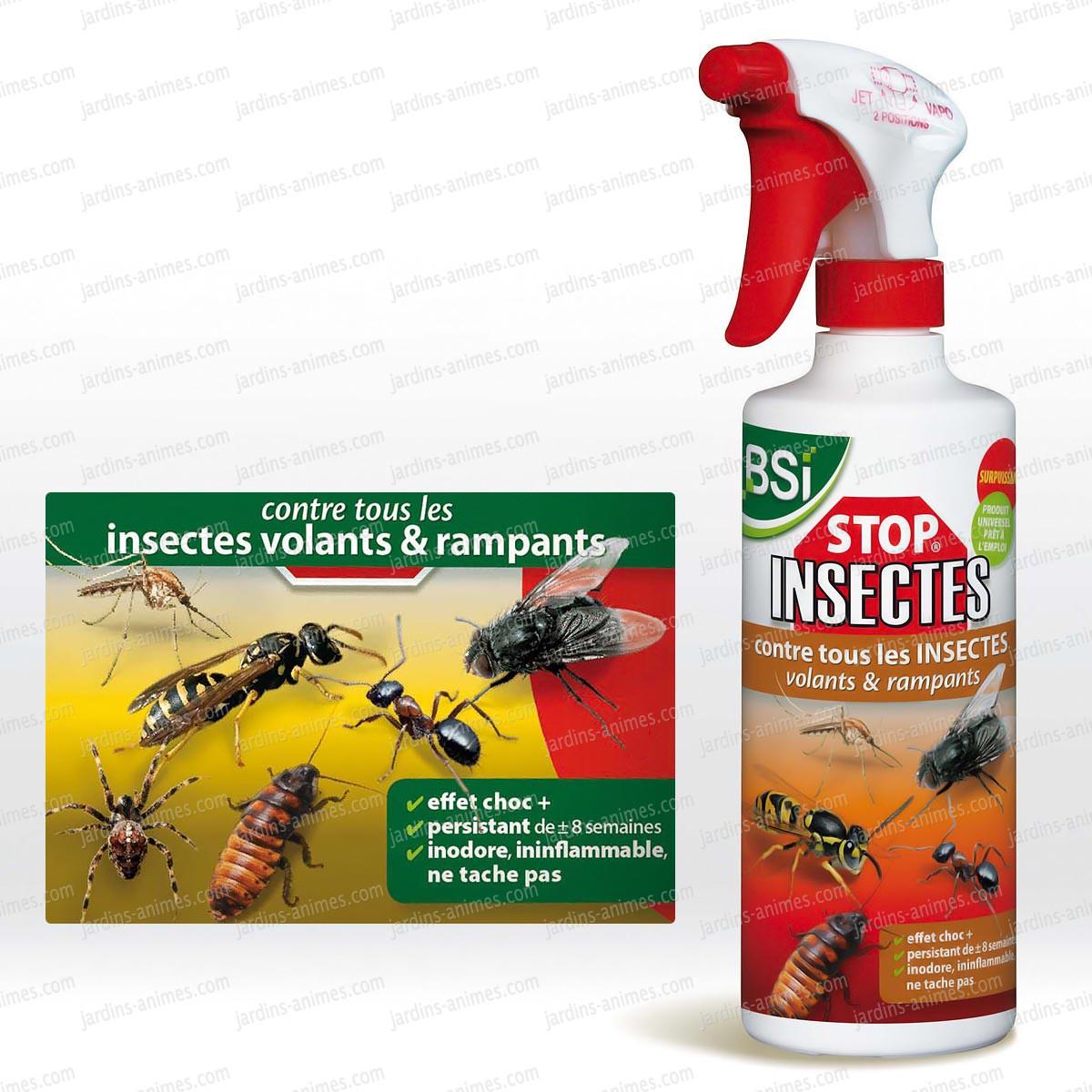 Stop Insectes Barrière 500Ml Biodegradable intérieur Produit Anti Tique Pour Jardin