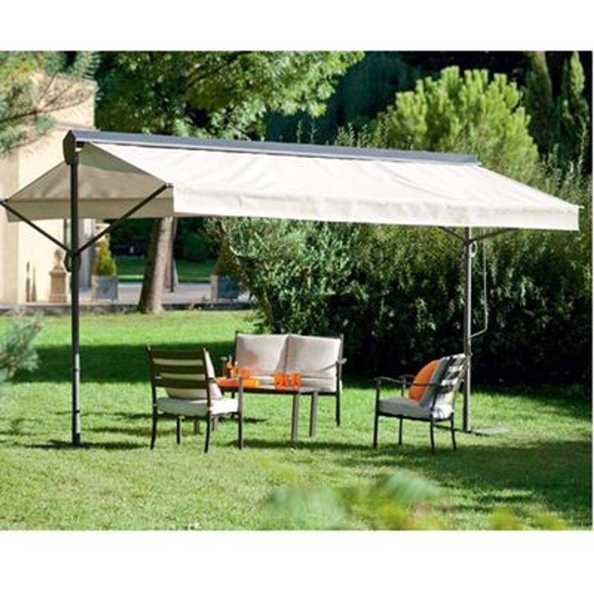 Store De Jardin Double Pente Riviera - 400 X 300 Cm ... encequiconcerne Store De Jardin Double Pente
