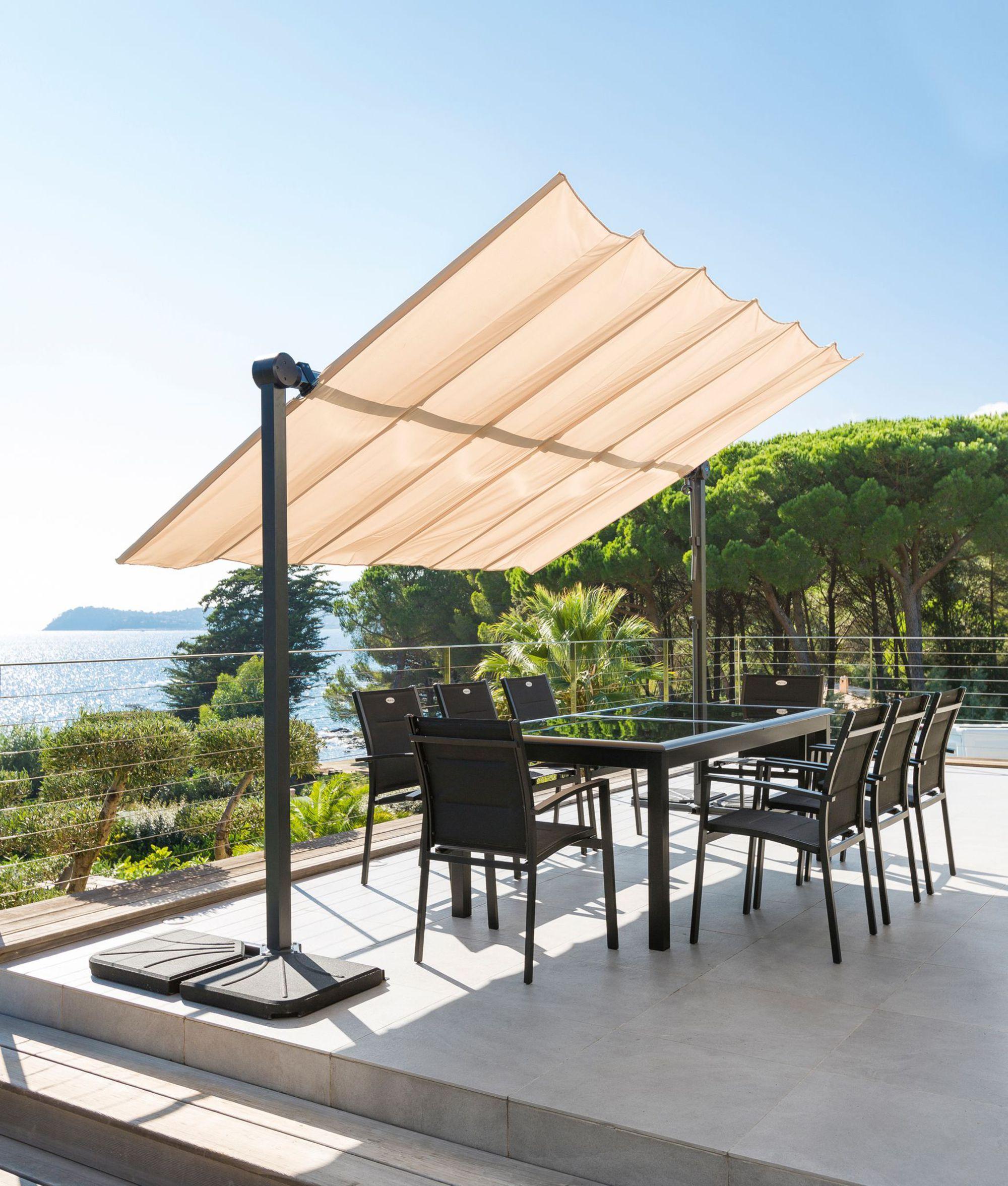 Store Terrasse | Meuble Jardin, Mobilier Jardin Et Parasol ... encequiconcerne Store De Jardin Double Pente