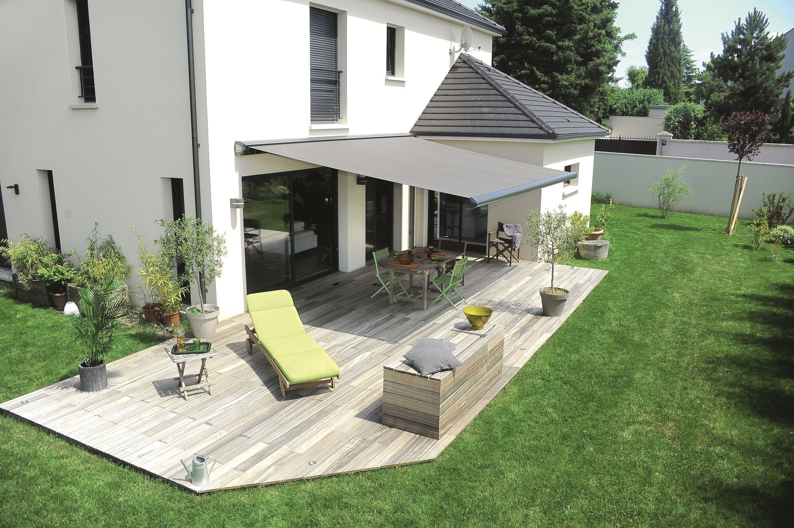 Storistesdefrance #store #terrasse #jardin #soleil ... avec Terrase De Jardin