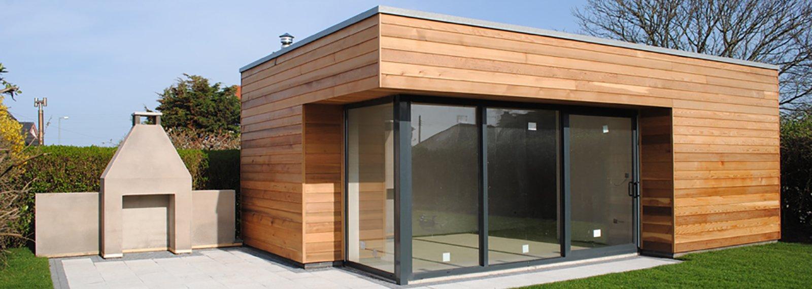 Studio Bureau De Jardin, Extension Maison Bois, Pool House tout Abri De Jardin Habitable