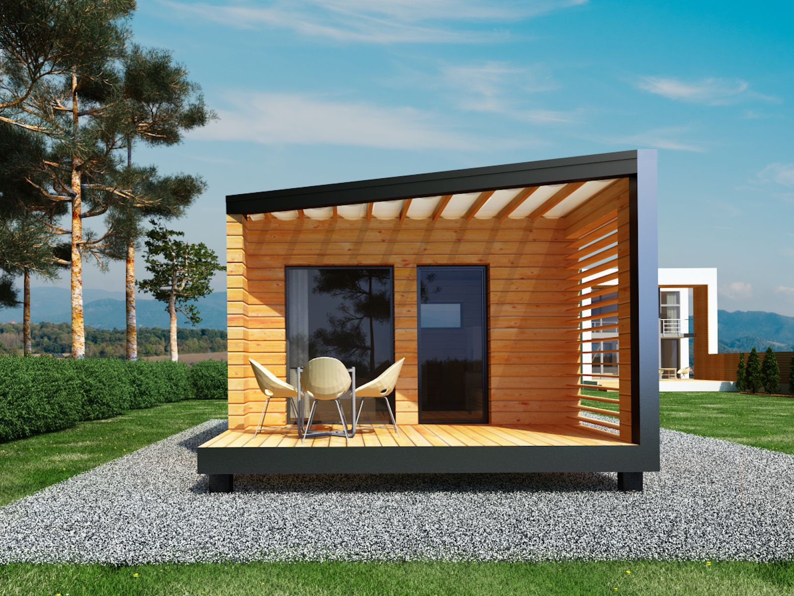 Studio De Jardin 20 M2, Sans Permis De Construire | Studio ... avec Studio De Jardin Habitable
