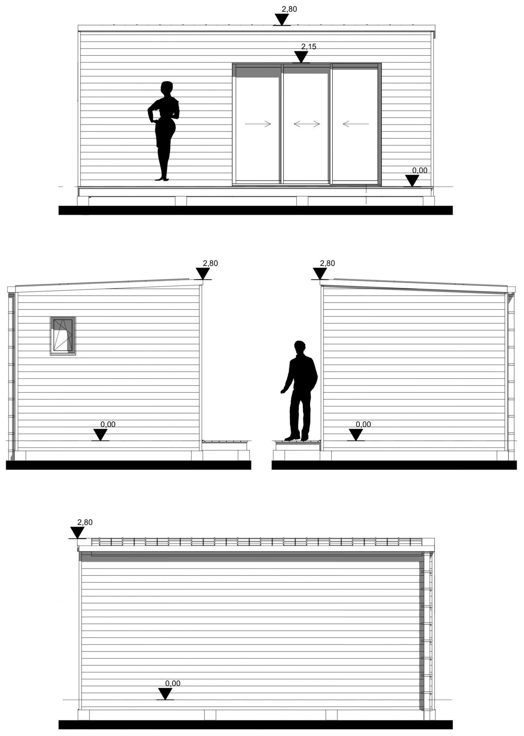Studio De Jardin 20M2 Clé En Main - Woodyloft pour Studio De Jardin Prix