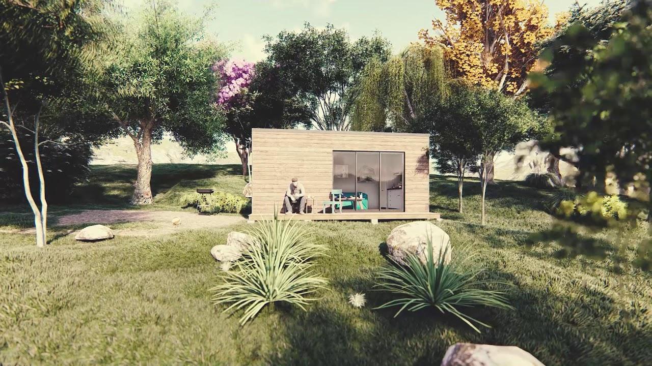 Studio De Jardin 20M2 Présentation Site Web tout Studio De Jardin Habitable