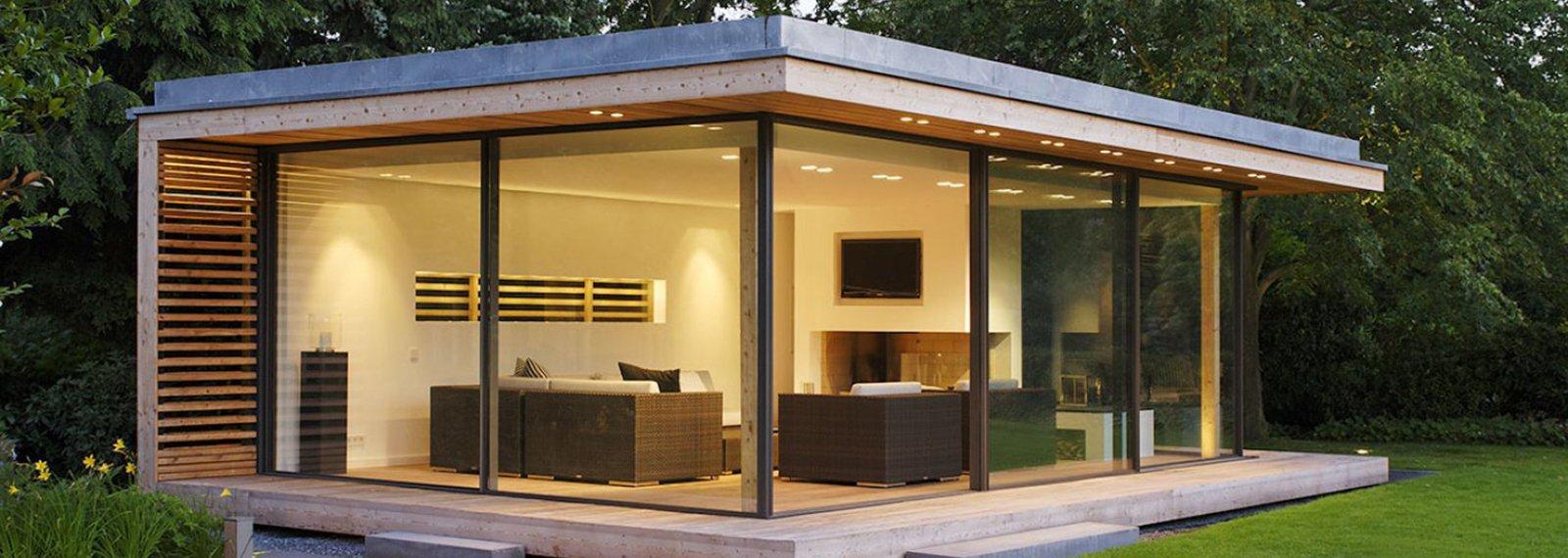 Studio De Jardin Bois Habitable Pool House Extension Maison serapportantà Bureau De Jardin En Kit