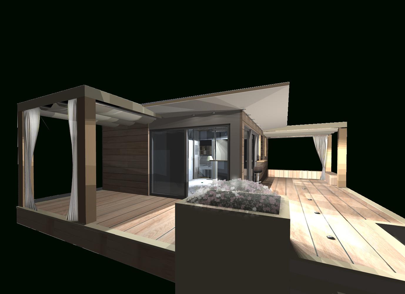 Studio De Jardin, Bureau De Jardin, Dependance Maison ... pour Studio De Jardin Habitable