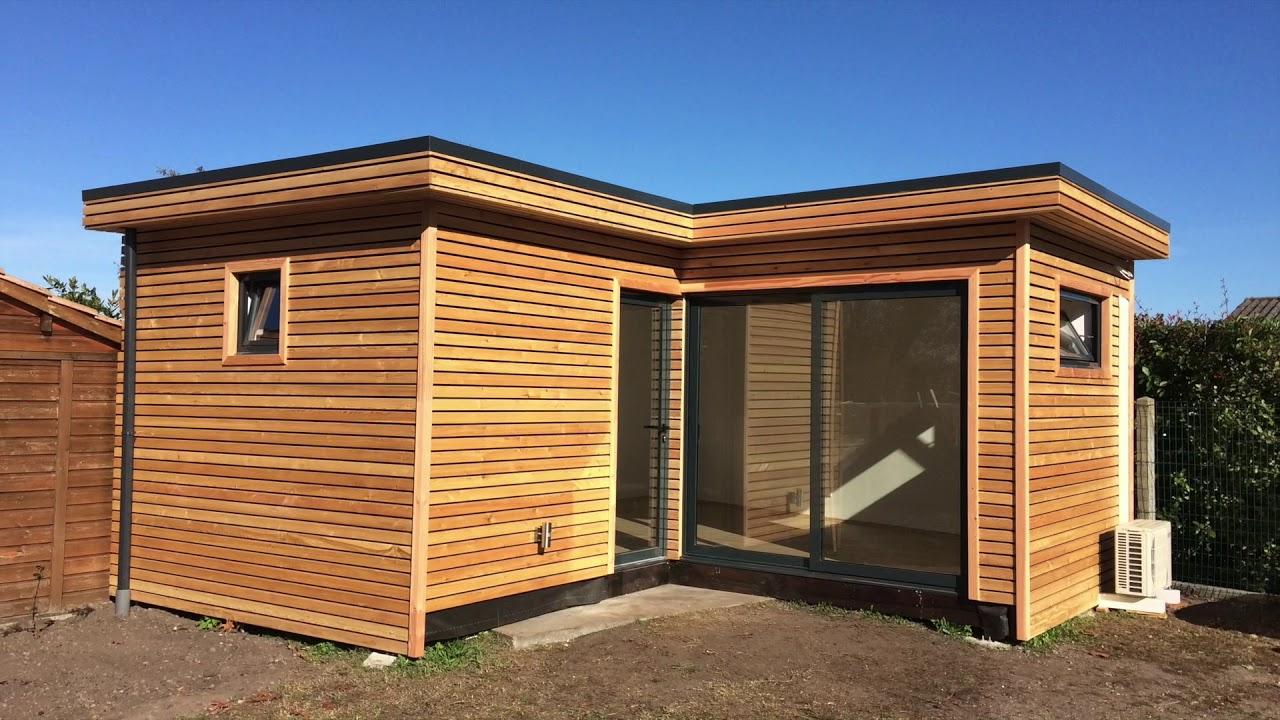 Studio De Jardin, Bureau De Jardin, Extension Bois, Davinci Loft avec Studio De Jardin Habitable