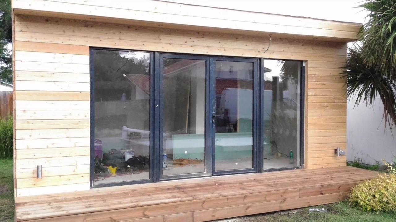 Studio De Jardin /extension Bois / Bureau De Jardin Davinci Loft à Studio De Jardin Habitable
