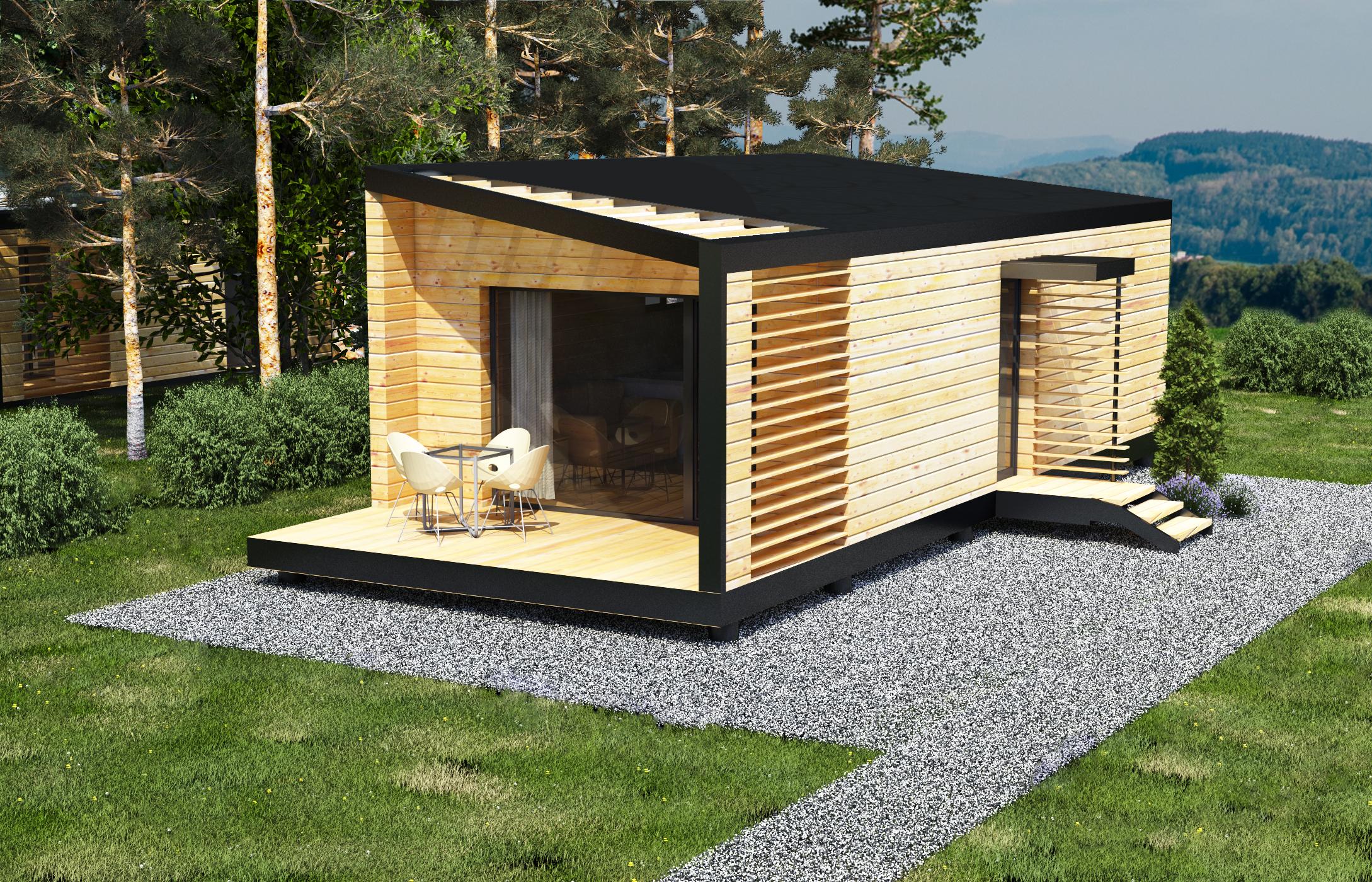 Studios, Chalets Et Bureaux De Jardin En Bois</ encequiconcerne Studio De Jardin Habitable