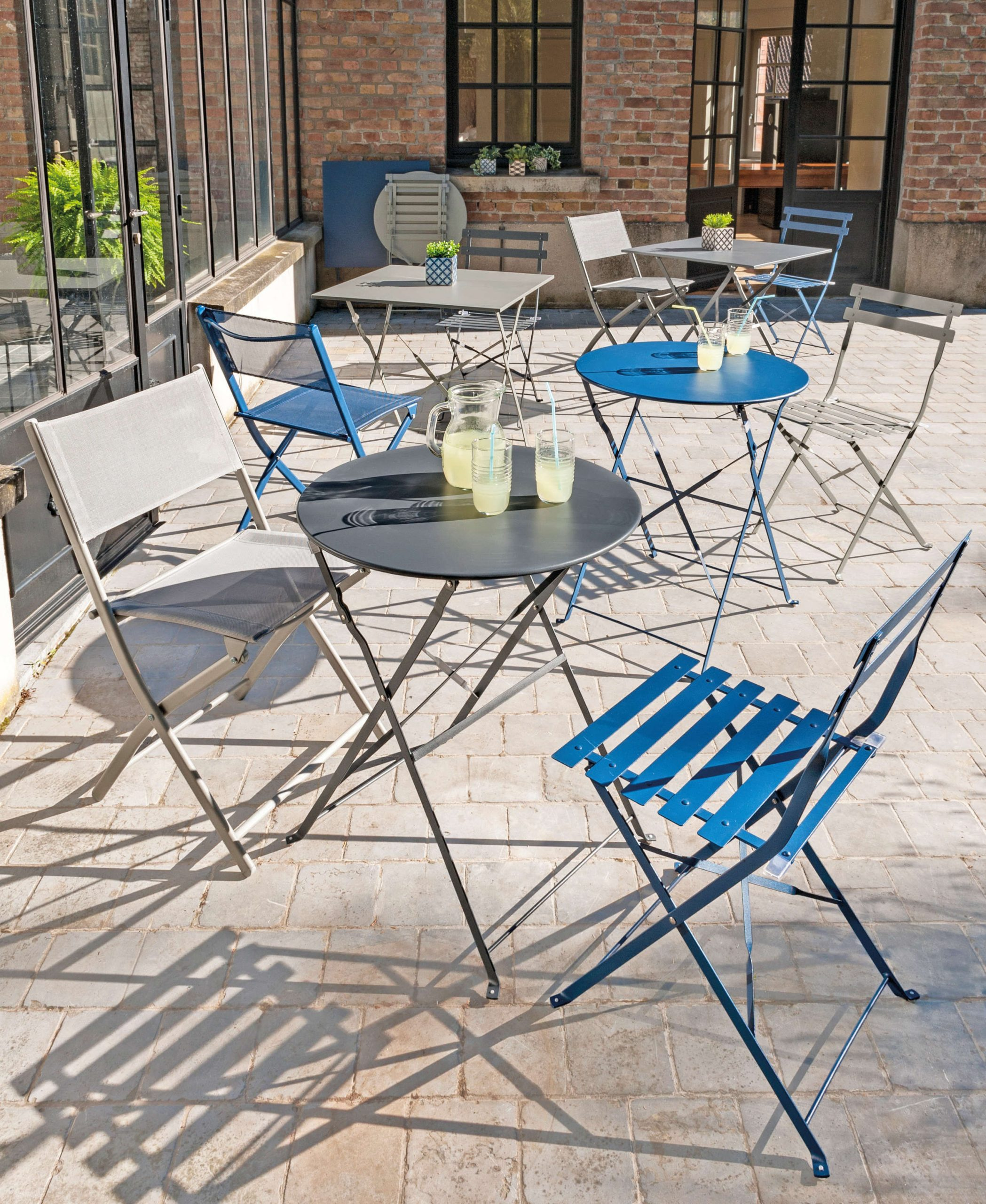 Style : Le Style Industriel S'invite Au Jardin   Blog La ... destiné Salon De Jardin La Foir Fouille