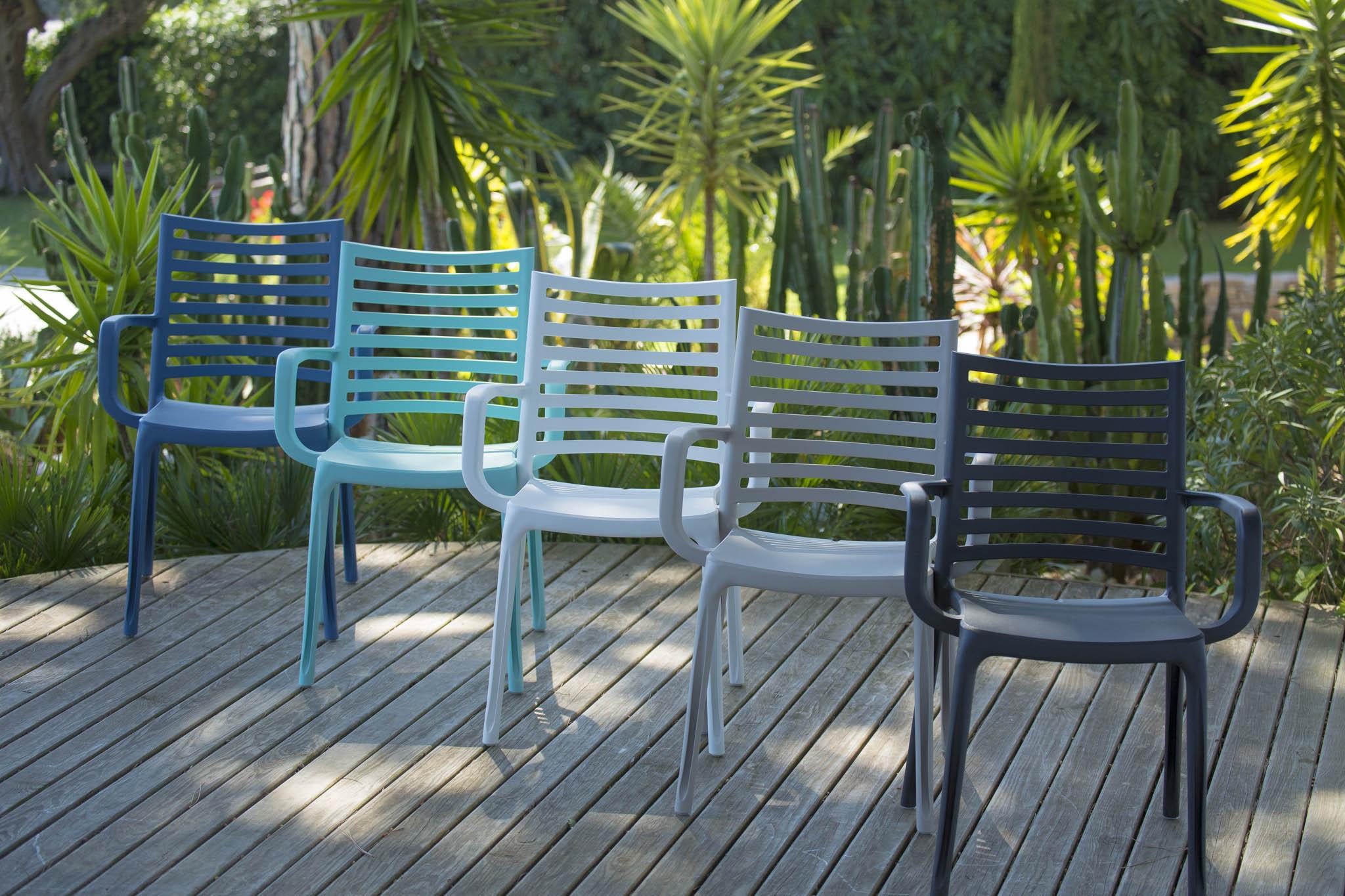 Sunday Garden Chair | Grosfillex dedans Fauteuil De Jardin Grosfillex