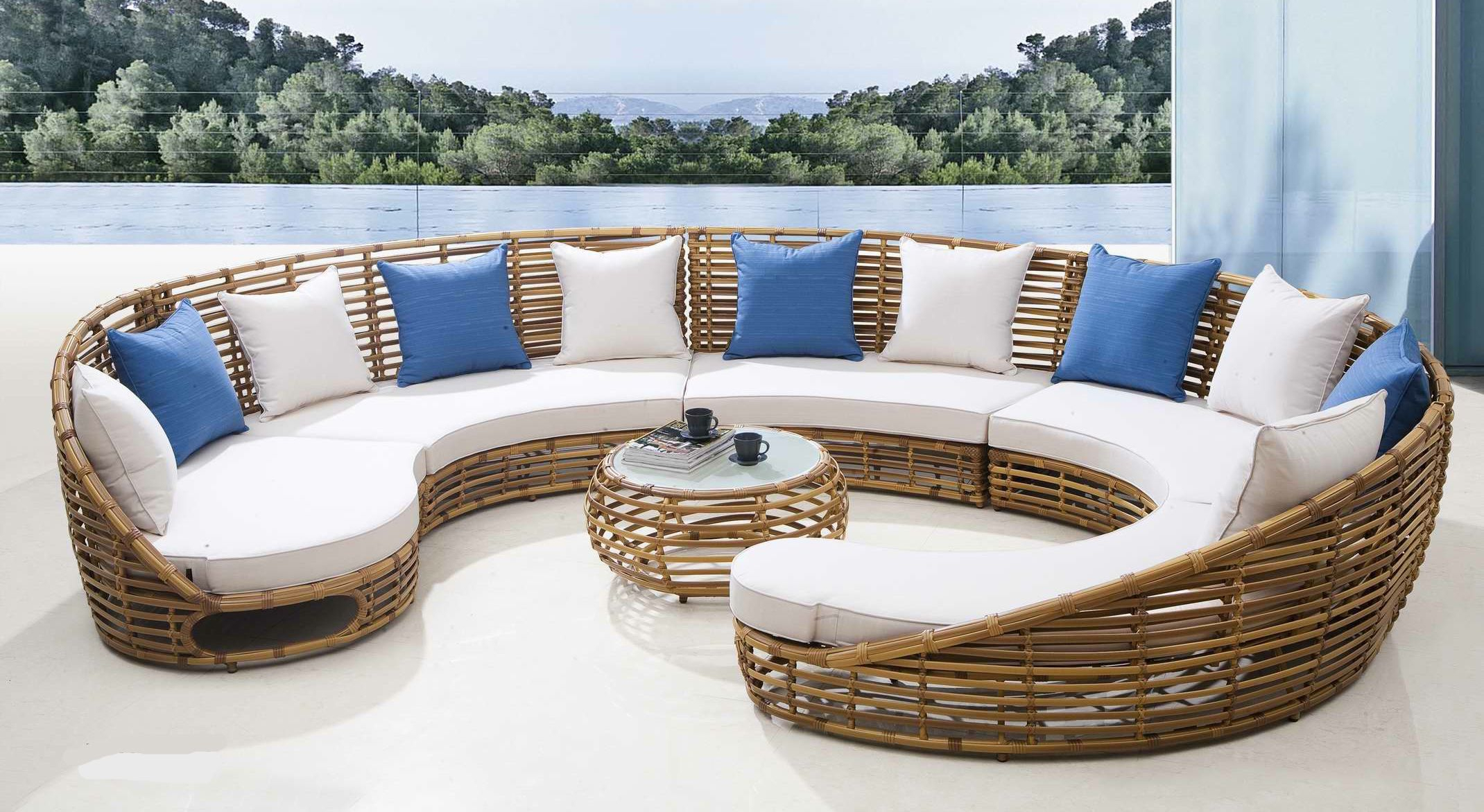 Super Chewy Patio Furniture Cushions Thick | Outdoor Wicker ... encequiconcerne Artelia Salon De Jardin