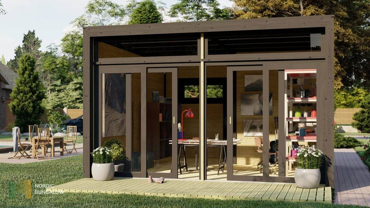 Superb Studio 44 A Square serapportantà Studio De Jardin Habitable