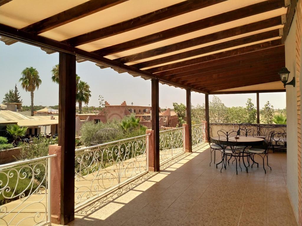 Superbe Appartement Dans Résidence Sécurisée (Fas Marakeş ... à Paillote Jardin