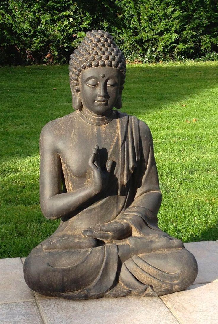 Superbe Statue De Bouddha Zen Jardin 73 Cm Pas Cher ... intérieur Petite Fontaine De Jardin Pas Cher