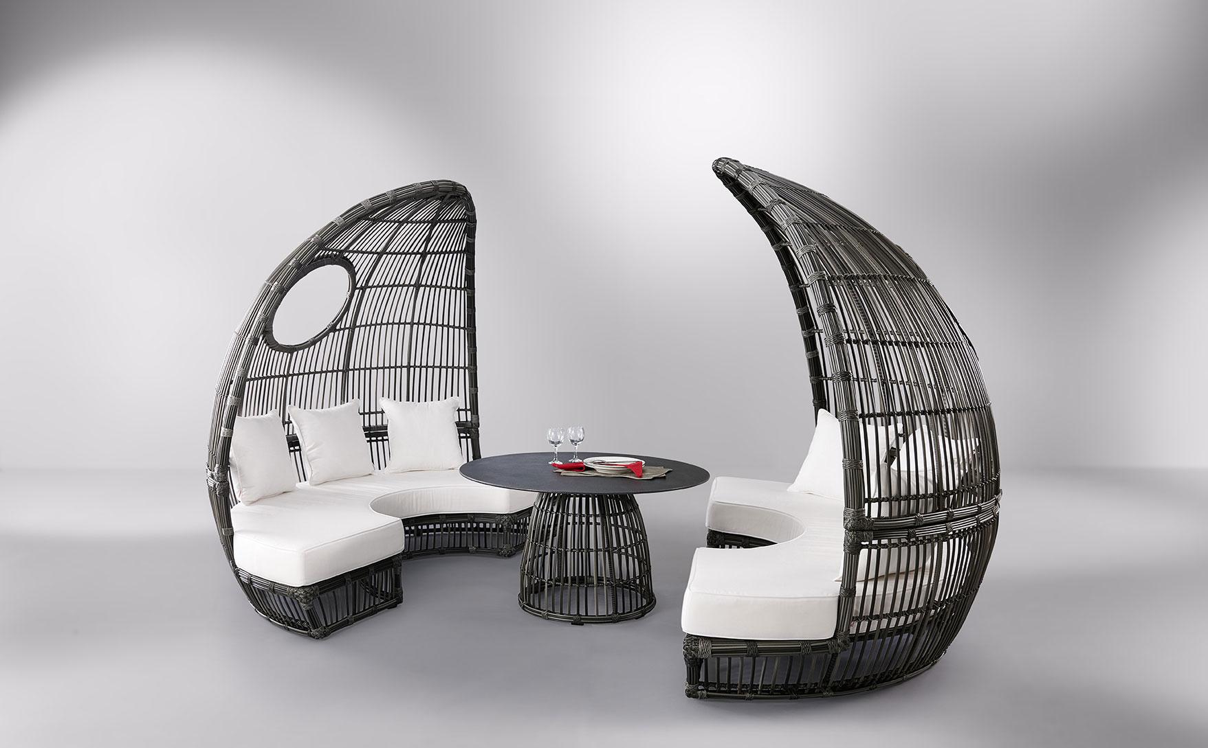 Symi Cocoon Table - Mobika Garden encequiconcerne Salon De Jardin Cocoon