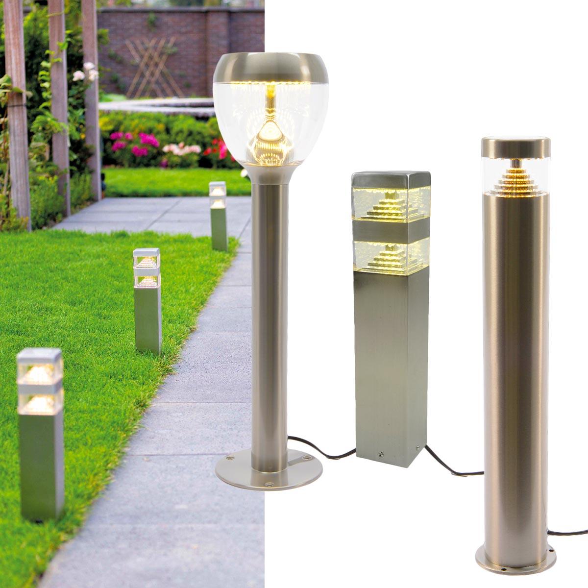 Système Éclairage Extérieur À Led 12V Basse Tension à Borne Electrique Jardin