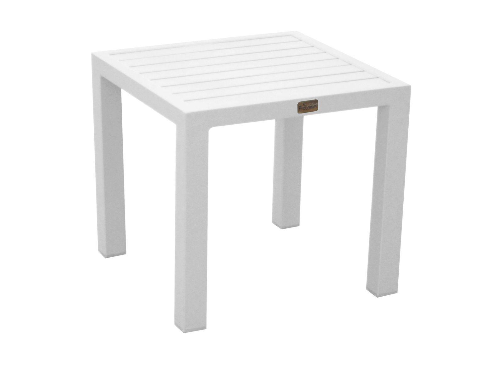 Table Basse Carrée Lou destiné Table Basse De Jardin En Plastique