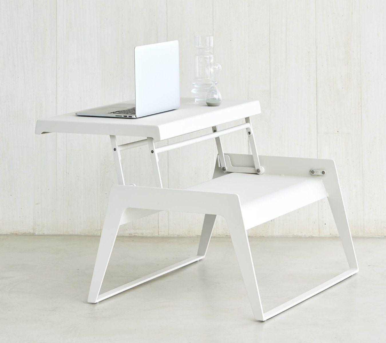 Table Basse Contemporaine / En Aluminium / Rectangulaire ... pour Desserte Jardin Plastique
