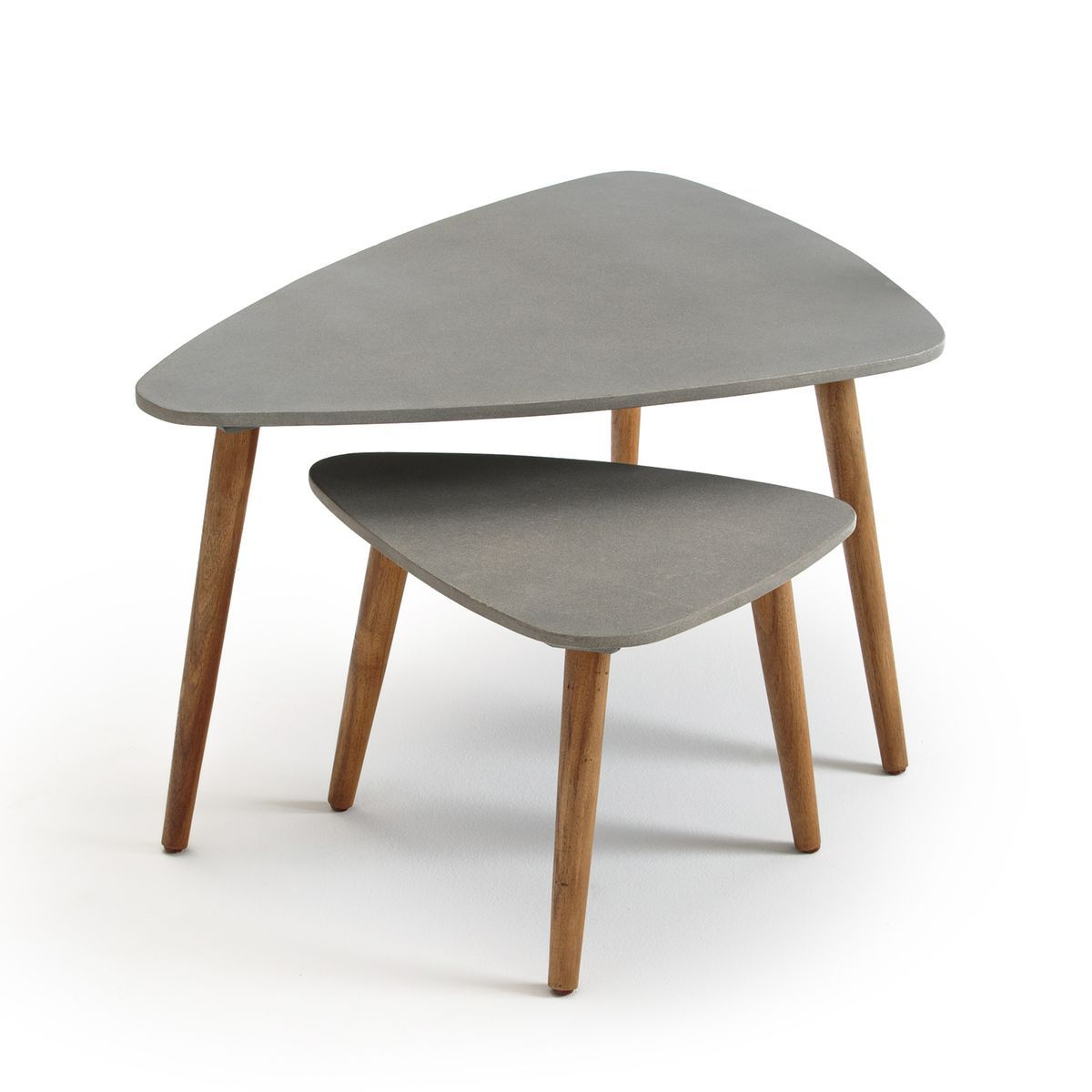 Table Basse De Jardin Gigogne, Julma, Lot De 2 - Taille ... serapportantà Table Basse De Jardin Ikea