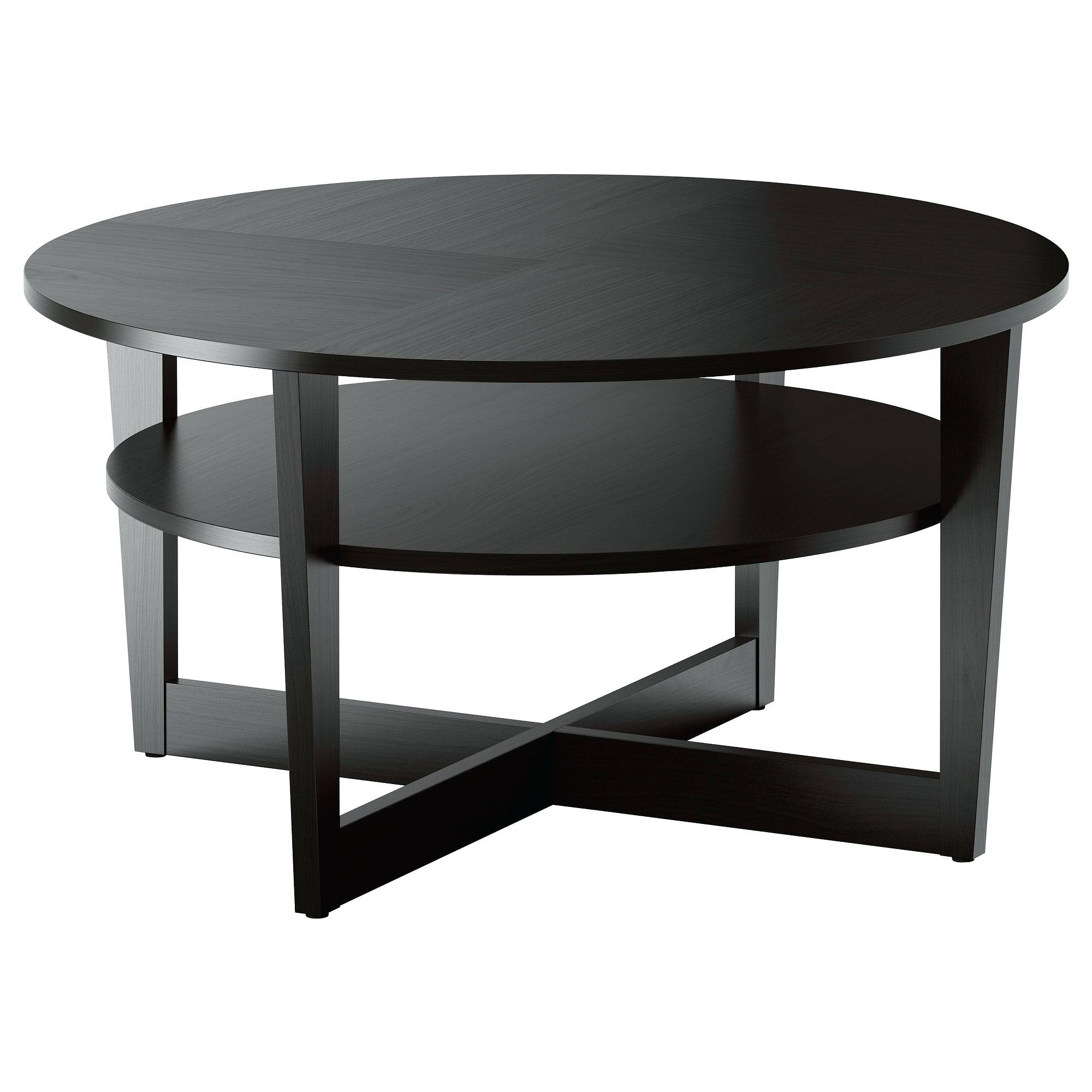 Table Basse Ikea Noir – Razvan.co destiné Table Ronde Jardin Ikea