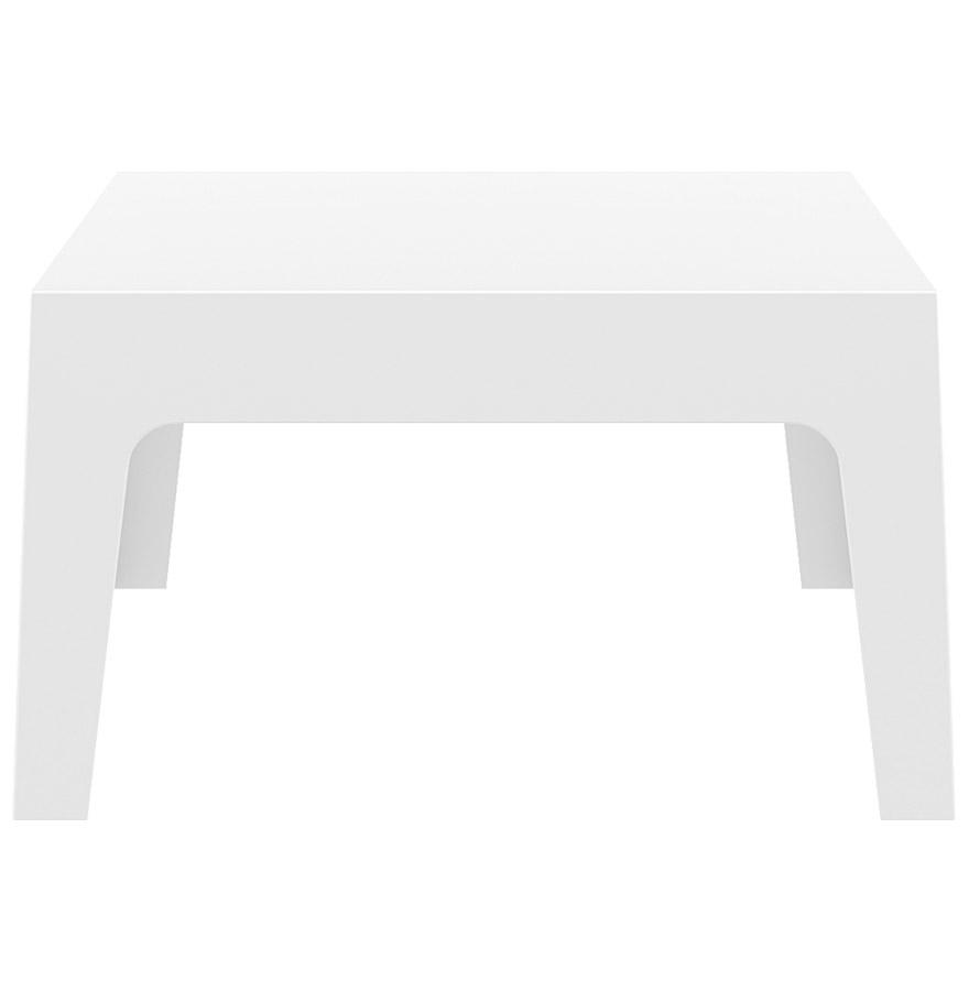 Table Basse 'marto' Blanche En Matière Plastique serapportantà Table Basse De Jardin En Plastique
