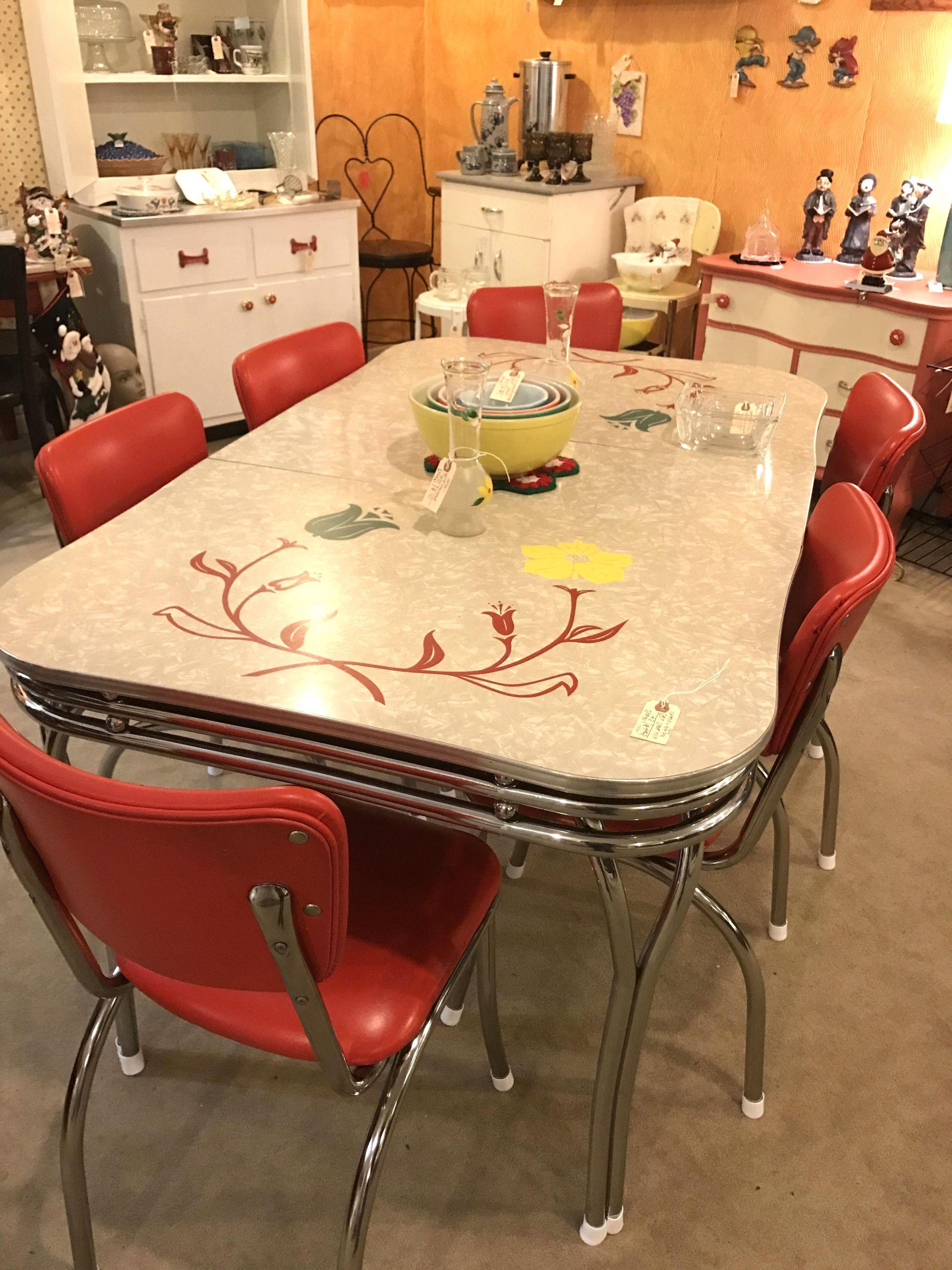 Table Bistrot Pas Cher Charmant Vintage Formica Table D ... concernant Salon De Jardin D Occasion