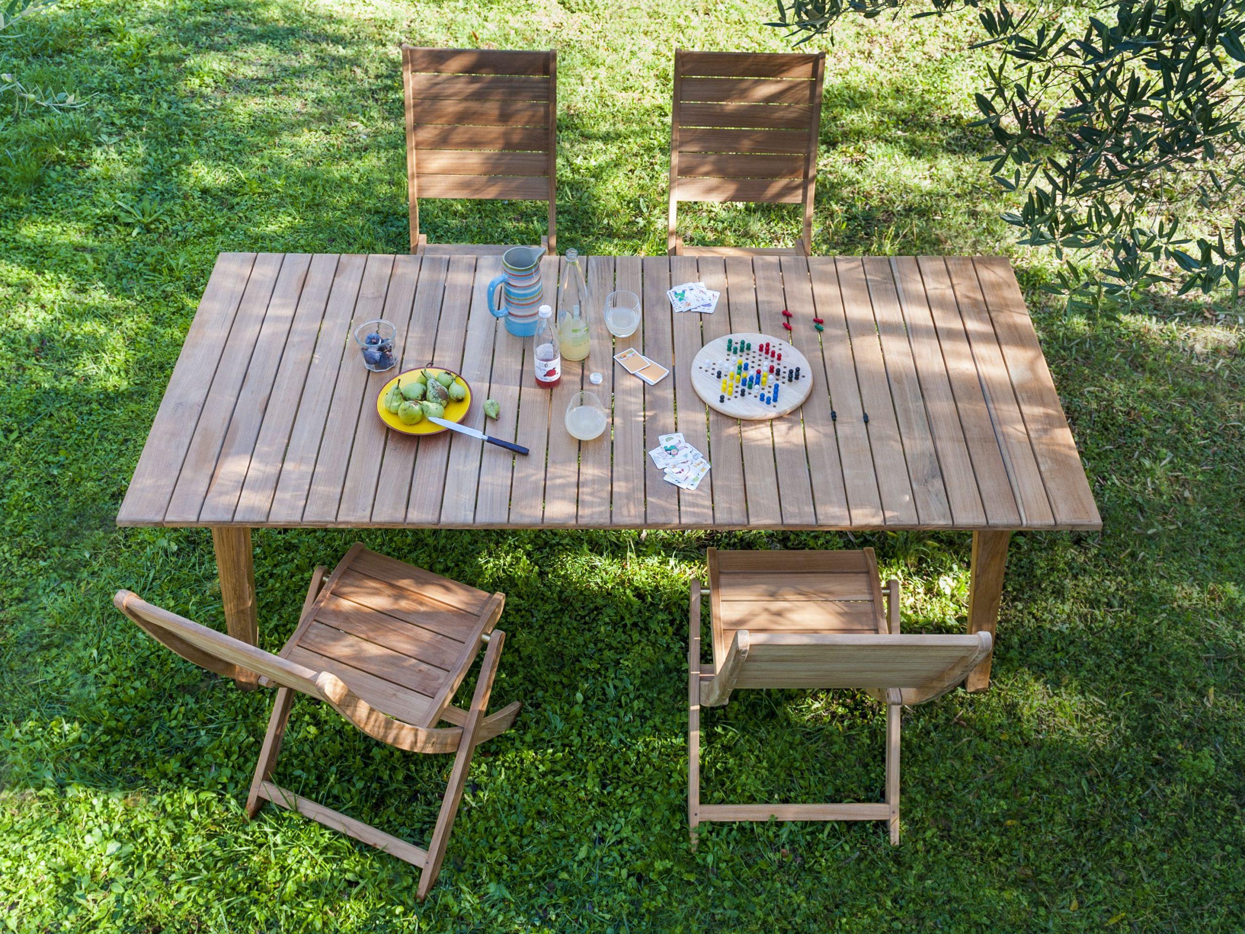 Table Blooma Abora - Castorama | Table De Jardin, Castorama ... tout Table De Jardin Pliante Castorama