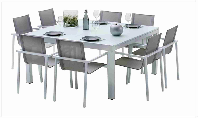 Table Carree 8 Personnes Salle À Manger Beau Résultat ... tout Table De Jardin Carrée 8 Personnes