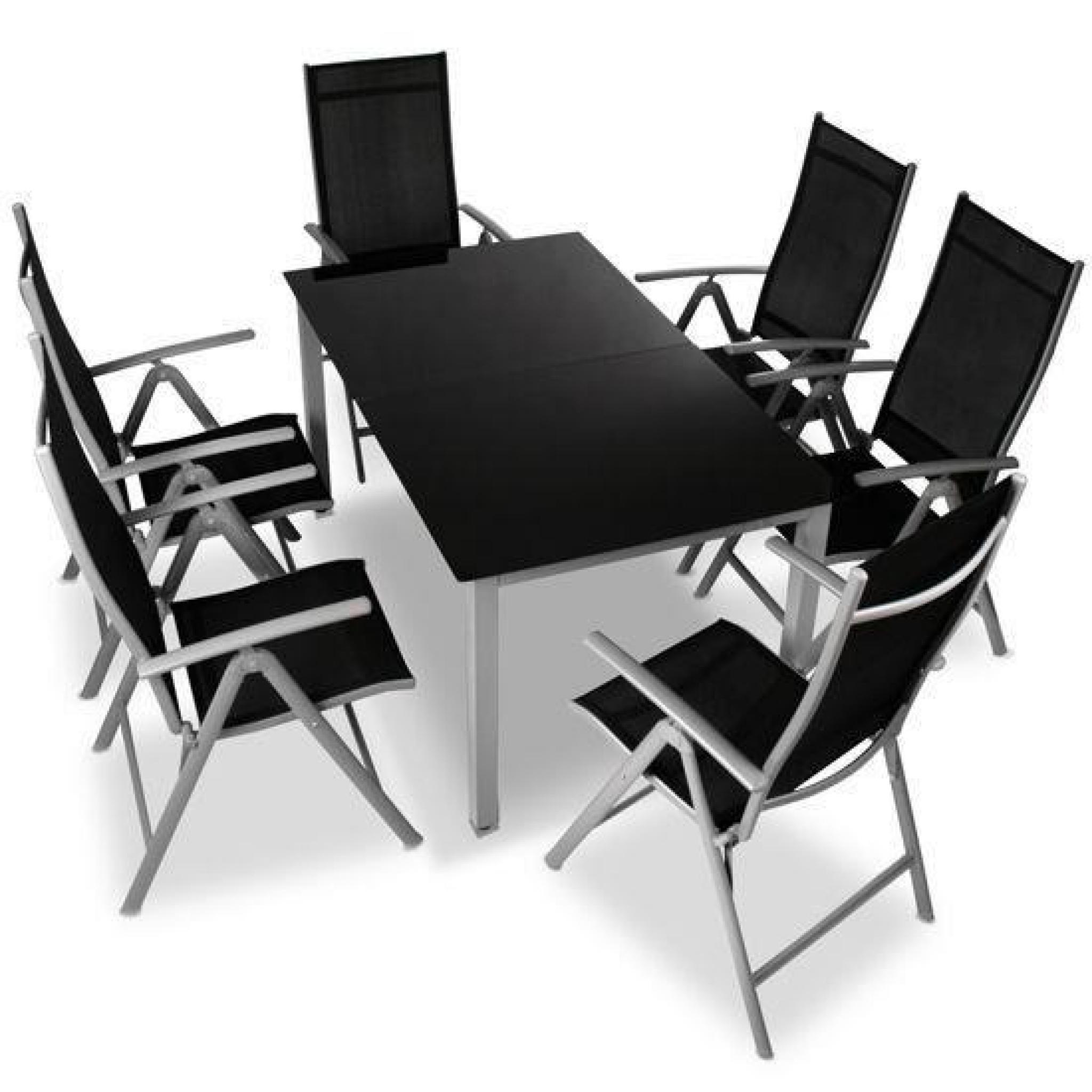 Table Chaises Jardin Aluminium destiné Table Et Chaise De Jardin En Aluminium