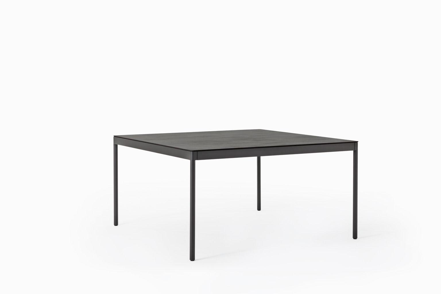 Table Contemporaine / En Céramique / En Acier / Avec ... destiné Table Jardin Ceramique