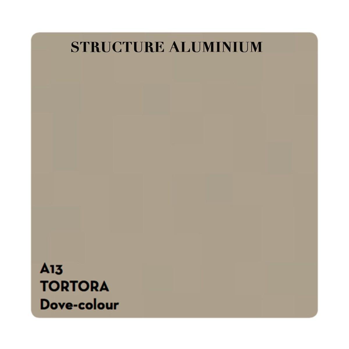 Table D'appoint Ronde En Aluminium Circle Par Talenti encequiconcerne Table De Jardin Aluminium Et Verre
