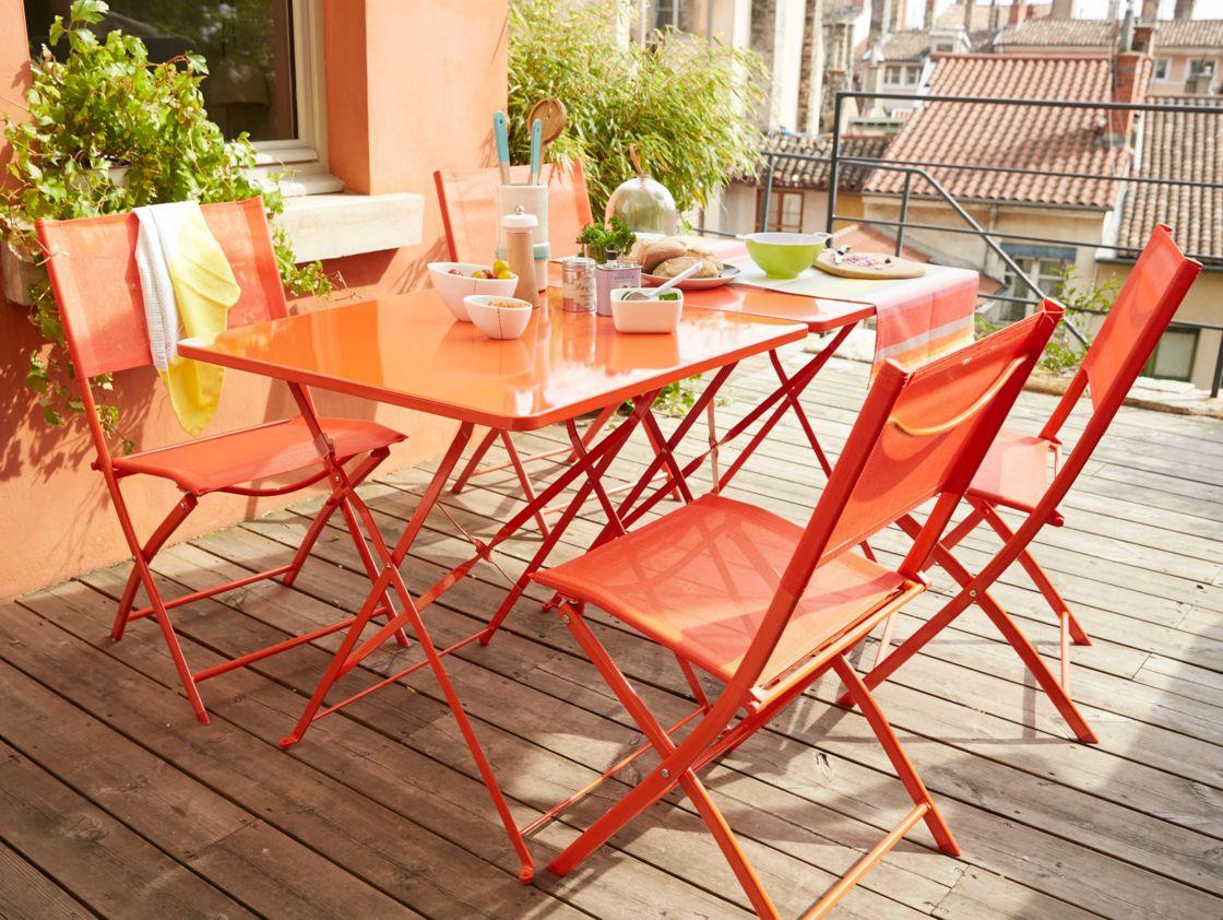 Table De Jardin : Alu Ou Acier, Que Choisir ? : Femme ... serapportantà Table De Jardin Aluminium Jardiland
