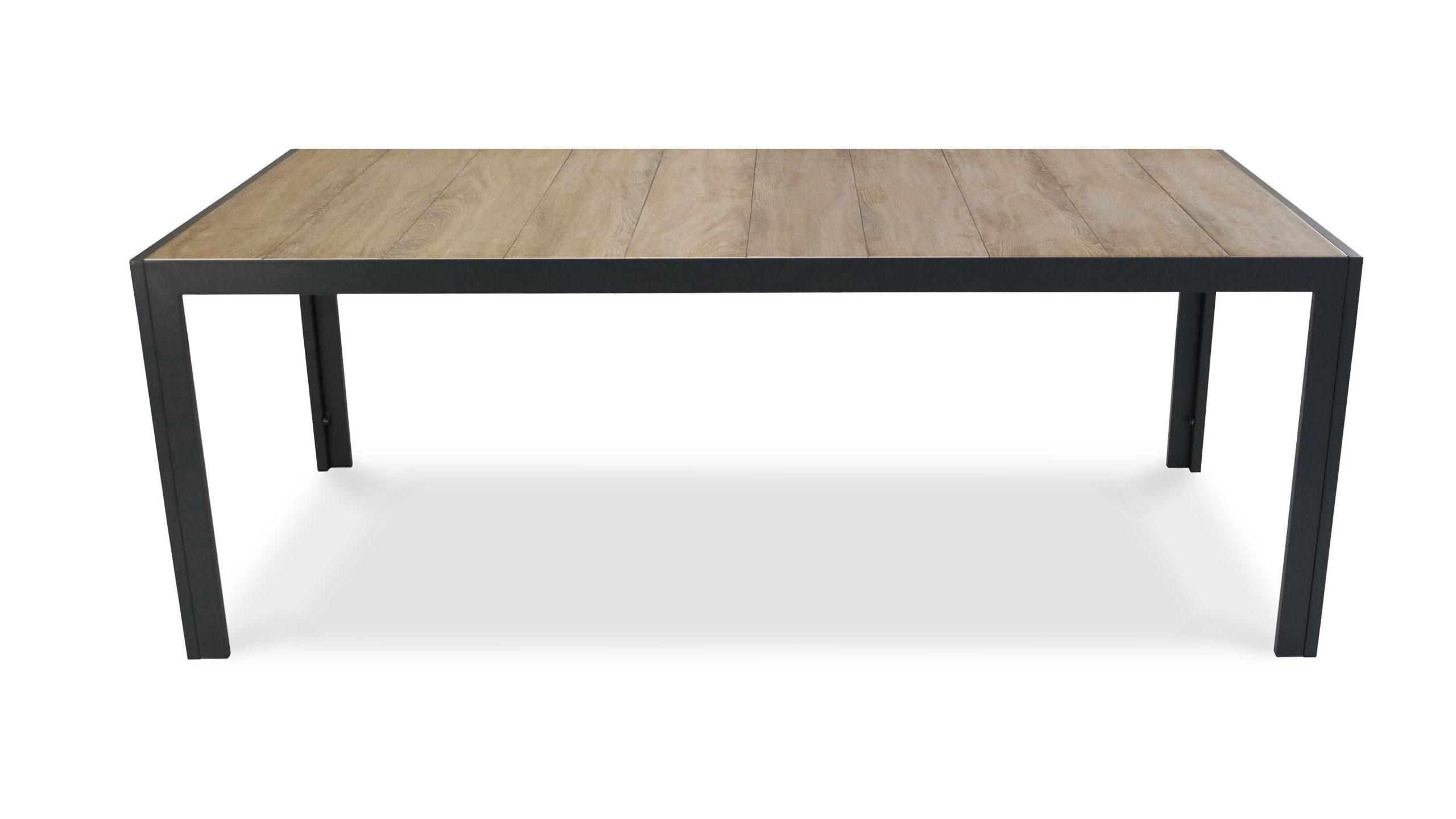 Table De Jardin Aluminium Et Céramique | Table De Jardin ... avec Table Céramique Jardin