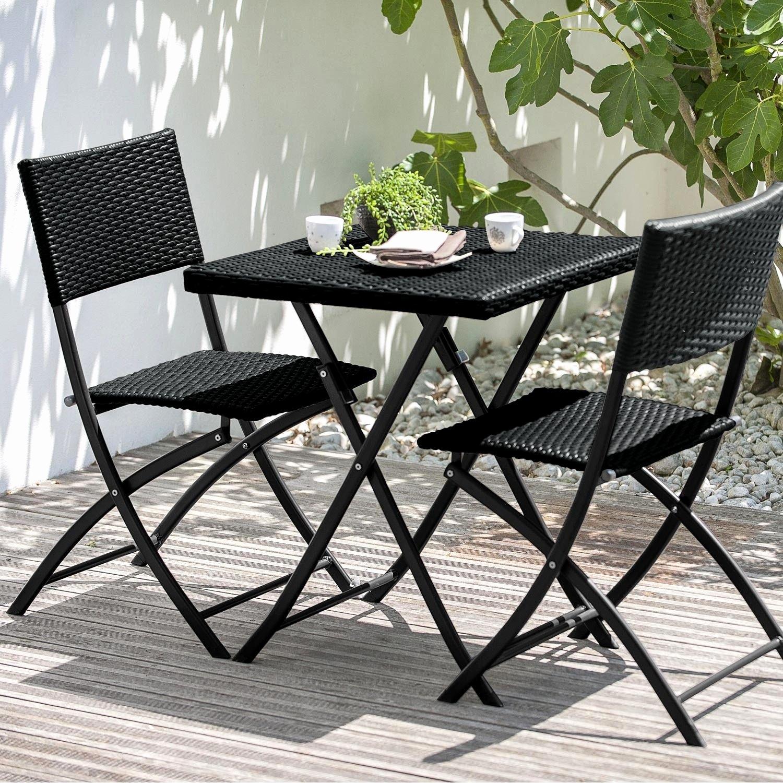 Table De Jardin Avec Chaise Pas Cher - Canalcncarauca pour Salon De Jardin Bricomarché
