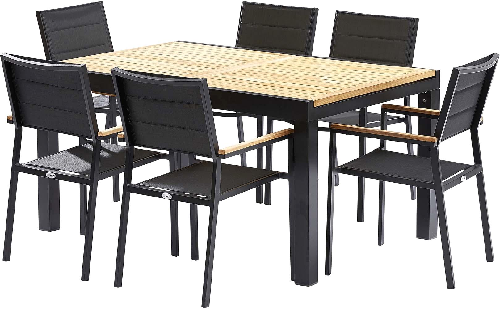 Table De Jardin Avec Chaise Pas Cher Table Et Chaise De ... à Fauteuil Jardin Carrefour