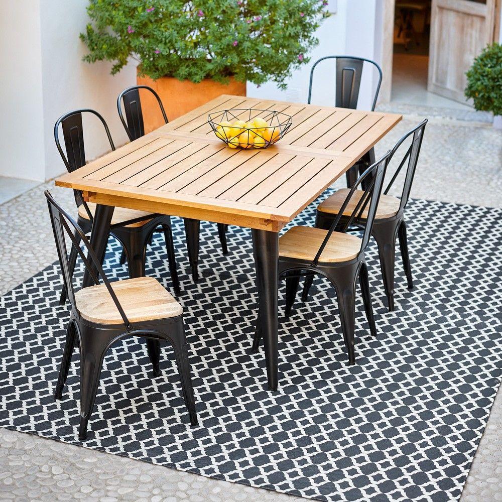 Table De Jardin En 2020   Table De Jardin Gifi, Chaise Salon ... avec Table Et Chaise De Jardin En Bois
