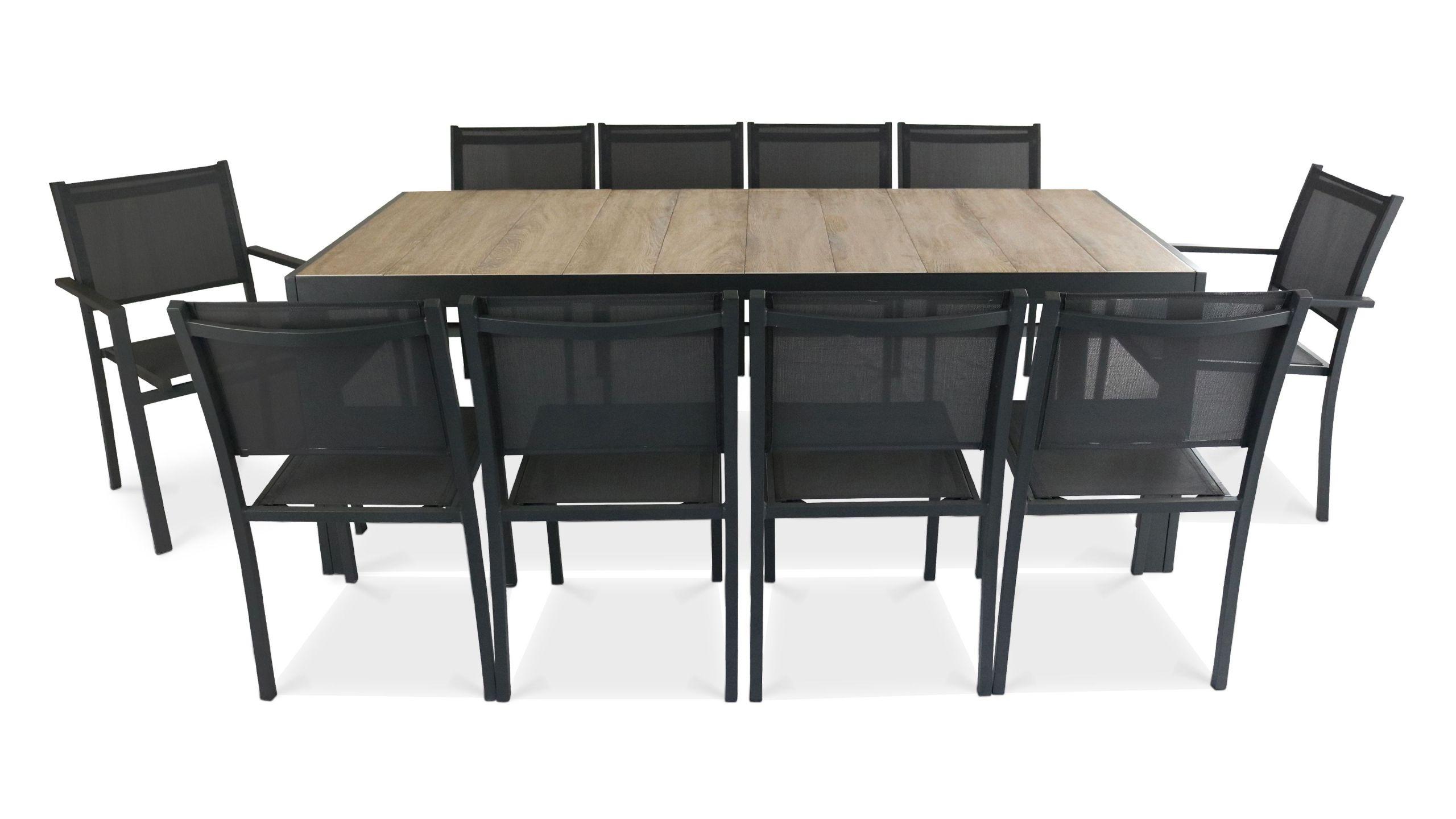Table De Jardin En Aluminium Schème - Idees Conception Jardin pour Table Jardin Ceramique
