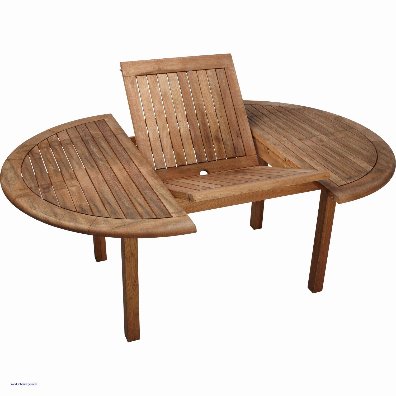 Table De Jardin En Bois Pas Cher Concept - Idees Conception ... avec Table Jardin Ronde Pas Cher