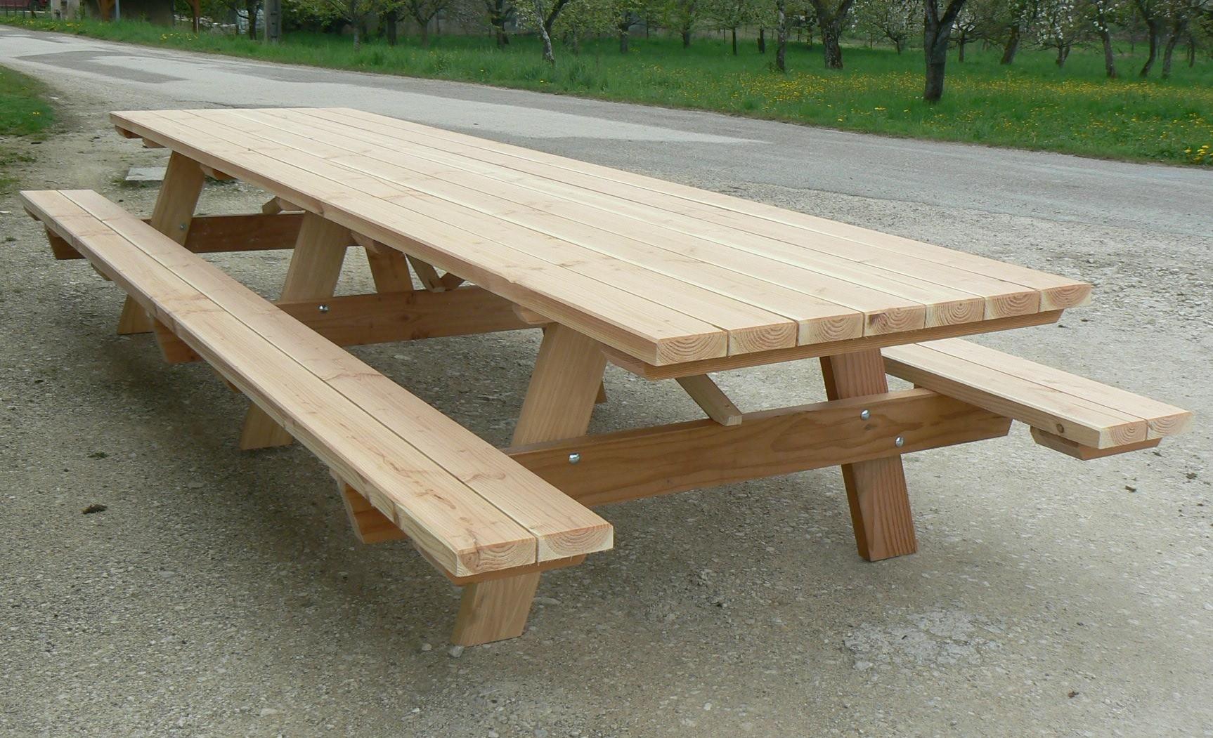 Table De Jardin En Bois Pas Cher Concept - Idees Conception ... encequiconcerne Table De Jardin En Bois Pas Cher