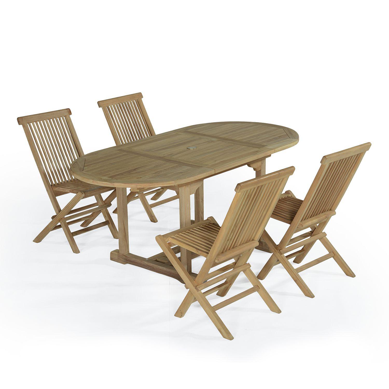 Table De Jardin En Teck Schème - Idees Conception Jardin concernant Salon De Jardin Hawai